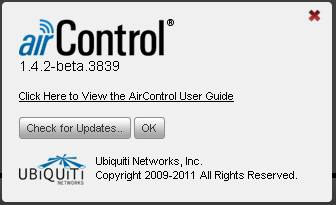 ubiquiti AirControl