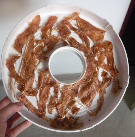 sušené kuřecí maso