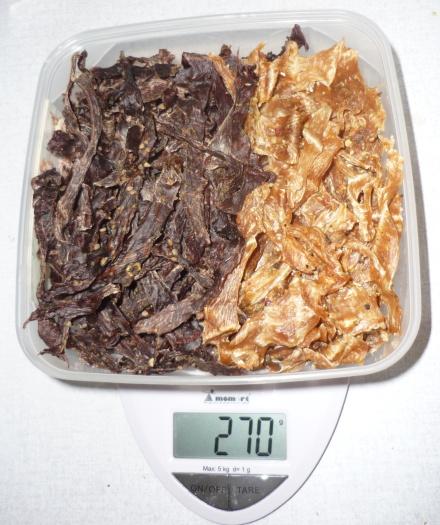 maso na váze