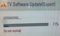 postup upgrade FW LG LH3000