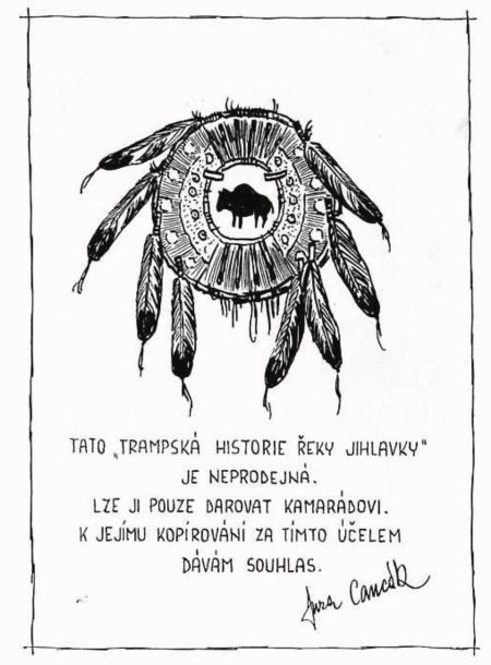 trampská historie řeky jihlavy