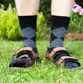Ponožky v sandálech vědecké vysvětlení