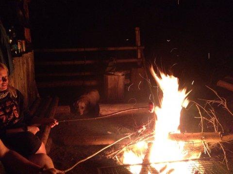 Posezení u ohně