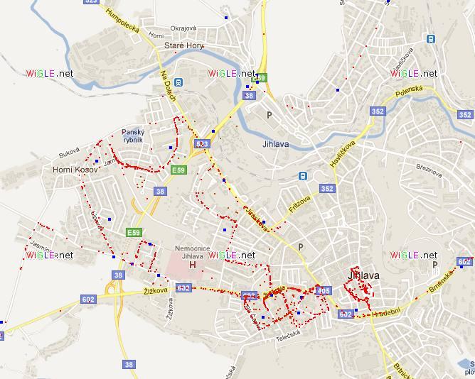 wiggle webova mapa google maps